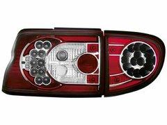 Faros traseros de LEDs para Ford Escort MK 6/7 93-00 rojos/claros