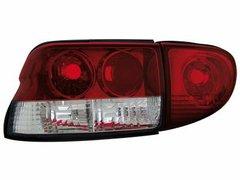 Faros traseros para Ford Escort MK 6/7 93-00 rojos/claros