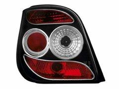 Faros traseros para Ford Fiesta 3 89-96 3T negros
