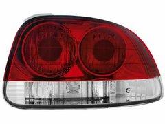 Faros traseros para Honda CRX del Sol 93-96 rojos/claros