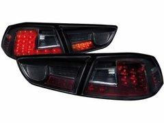 Faros traseros de LEDs para Mitsubishi Lancer ab 08 negros