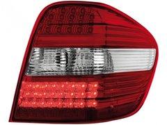 Faros traseros de LEDs para Mercedes Benz Clase M 05+ rojos/claros