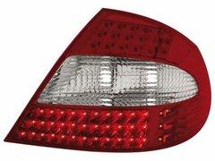 Faros traseros de LEDs para Mercedes Benz CLK W209 05-10 rojos/claros