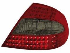 Faros traseros de LEDs para Mercedes Benz CLK W209 05-10 rojos/ahumados