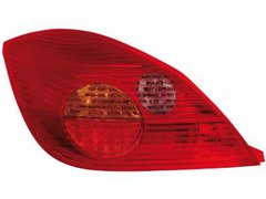 Faros traseros de LEDs para Opel Tigra 04+ rojos