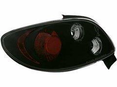 Faros traseros para Peugeot 206cc 98-09 negros