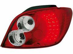 Faros traseros de LEDs para Peugeot 307 01-08 rojos/claros