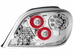 Faros traseros de LEDs para Peugeot 307 01-08 claros
