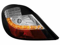 Faros traseros de LEDs para Peugeot 207 06+ negros