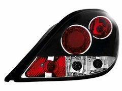 Faros traseros para Peugeot 207 06+ negros