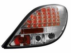 Faros traseros de LEDs para Peugeot 207 06+ claros