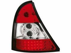 Faros traseros de LEDs para Renault Clio II 98-01 rojos/claros