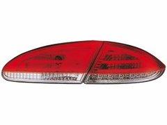 Faros traseros de LEDs para Seat Leon 05-09 1P rojos/claros