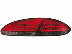 Faros traseros de LEDs para Seat Leon 05-09 1P rojos/ahumados