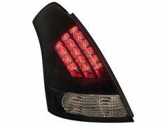 Faros traseros de LEDs para Suzuki Swift 05+ negros