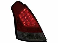 Faros traseros de LEDs para Suzuki Swift 05+ rojos/ahumados