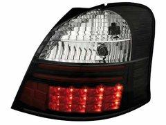 Faros traseros de LEDs para Toyota Yaris 05+ negros