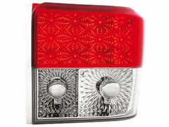 Faros traseros de LEDs para VW T4 90-03 rojos/claros