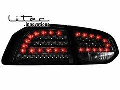 Faros traseros de LEDs para VW Golf VI con intermitente de LEDs negros