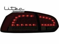 Faros traseros de LEDs para VW Golf VI con intermitente de LEDs rojos/ahumados
