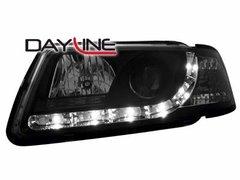 Faros delanteros luz diurna DAYLINE para AUDI A3 8L 09.96-00 negros
