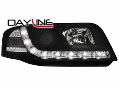 Faros delanteros luz diurna DAYLINE para AUDI A6 4B 01-04 negros