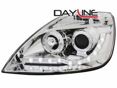 Faros delanteros luz diurna DAYLINE para Ford Fiesta 02-05