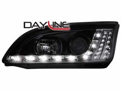 Faros delanteros luz diurna DAYLINE para Ford Focus 05-08 negros