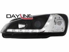 Faros delanteros luz diurna DAYLINE para Peugeot 106 96-99 negros