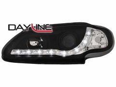 Faros delanteros luz diurna DAYLINE para Renault Megane 3/5T96-99 negros