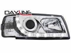 Faros delanteros luz diurna DAYLINE para VW T4 96-03