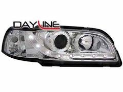 Faros delanteros luz diurna DAYLINE para Volvo S/V40